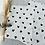 Thumbnail:  Papier Taschen  •Herzchen schwarz• 10 Stk