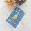 Thumbnail:  Mini Kärtchen •Winterwonderland• mit Goldmetallic