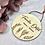 Thumbnail: Namensschild Türschild Blumenkräuter Vintage Stil