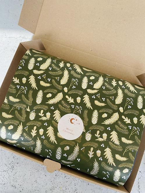 Geschenkpapier 30 cm  x 3 m •Wald•