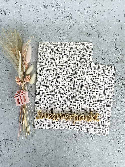 Papier Taschen •Gold• 10 Stk