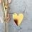 Thumbnail: Herzanhänger in Gold