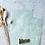 Thumbnail: Papier Taschen Grün•Gold Blätter 10 Stk