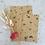 Thumbnail:  Papier Taschen Kraftpapier •Schmetterling• 10 Stk.