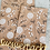 Thumbnail: Papier Taschen Kraftpapier Blümchen 10 Stk