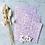 Thumbnail: Papier Taschen Rosa geschnörkelt