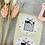 Thumbnail: Sticker •Geschenk Gold • 10 Stk.