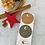 Thumbnail: Sticker •Merry Christmas Mond gold• 10 Stk.