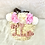 Thumbnail: Korbtasche mit Namen Kinder - Ibizatasche personalisiert