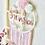 Thumbnail: Traumfänger mit Stickerei Finja