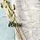 Thumbnail: Geschenkpapier  50x300cm Zartrosa•Gold