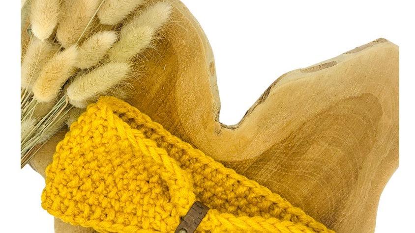 Stirnband Wolle Standard