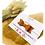 Thumbnail: Haarband mit Schleife Kunstleder braun