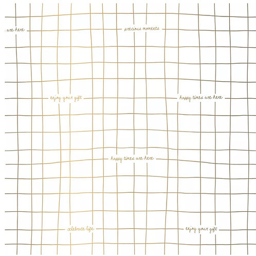 Seidenpapier •Golden Stripes•