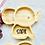 Thumbnail: Bambusteller  mit Gravur