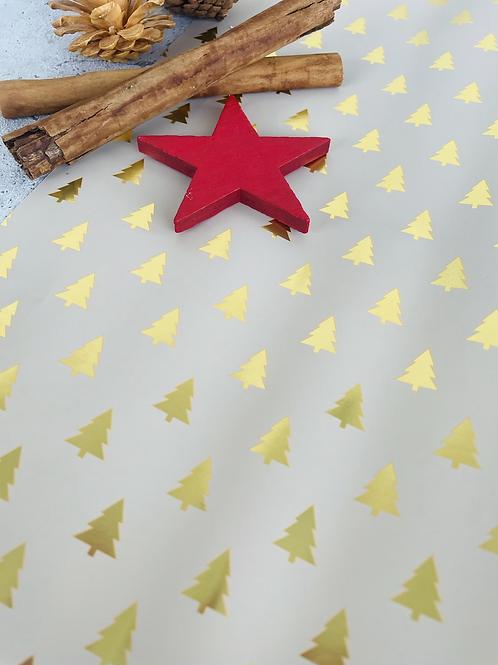 Geschenkpapier 50cm x 3 m •golden tree•
