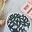 Thumbnail: Sticker •Blumen Gold• 10 Stk.