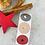 Thumbnail: Sticker •Stern Herz Mond gold• 10 Stk.