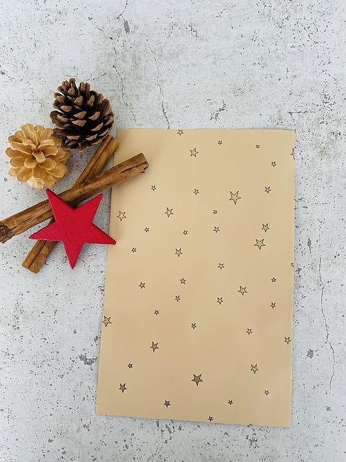 Papier Taschen  •Stars gold• 10 Stk