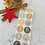 Thumbnail: Sticker •Zahlen gold• 10 Stk.