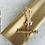 Thumbnail: Geschenkpapier 50x300cm Kraftpapier gold