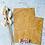 Thumbnail: Papier Taschen Senfgelb Blätter 10 Stk