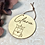 Thumbnail: Namensschild Türschild Kind Baby mit Gravur