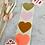 Thumbnail: Sticker •rosa/gold• 10 Stk.