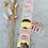 Thumbnail: Sticker WOW gold /rosa