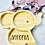Thumbnail: Bambusteller  Elefant mit Gravur