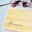 Thumbnail: Frühstücksbrett mit Tiermotiv und Namen aus Bambus
