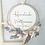 Thumbnail: Blumenkranz Flower Loop Türkranz mit Gravur