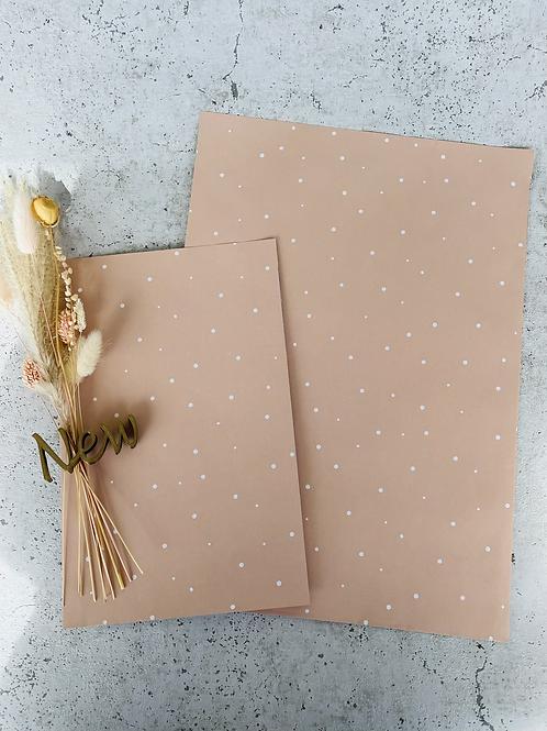 Papier Taschen  •nude dots•