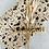 Thumbnail: Geschenkpapier  50x300cm Kraftpapier Blumen
