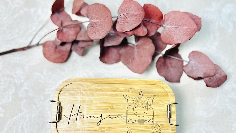 Lunchbox Brotbox mit Gravur