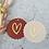 Thumbnail: Geschenkeanhänger mit Goldenem Herz