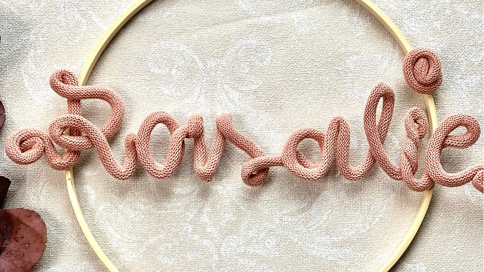 Türschild Namensschild Baby Kind Boho