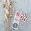 Thumbnail: Sticker Regenbogen/Kirsche