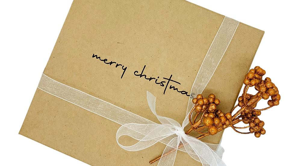 Geschenkbox merry christmas