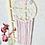 Thumbnail: Traumfänger  Wandbehang mit Spitze Stickerei ohne Name