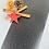 Thumbnail:  Geschenkpapier 50cm x 3 m •black stars•