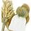 Thumbnail: Mütze Zopfmuster Wolle mit Bommel