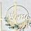 Thumbnail: Blumenkranz Flower Hoop welcome/home