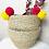 Thumbnail: Seegraskorb Boho Stil XXL EXTRA groß