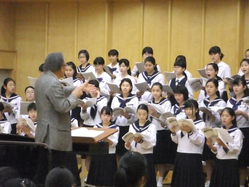 中・高生と指導者のための合唱講習会(中学女声②)