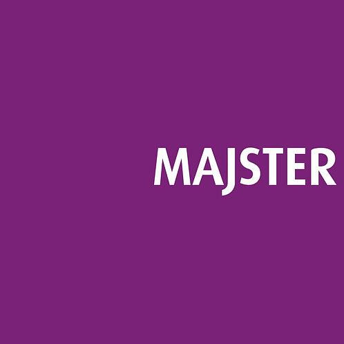 MAJSTER - (CD Dédicacé)