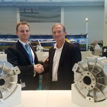 Siemen's Olaf Otto and George Bye