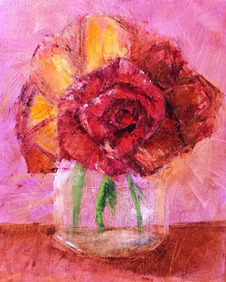 """Pink and Red"" by Karen S Conley"