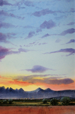 Dawn Over the Mesilla Valley