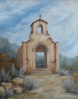 """Morley Church"" by Peggy Hoffman"